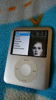 Apple iPod nano 3rd Generation Silver (4 GB) - Good Condition, Slight Issue!