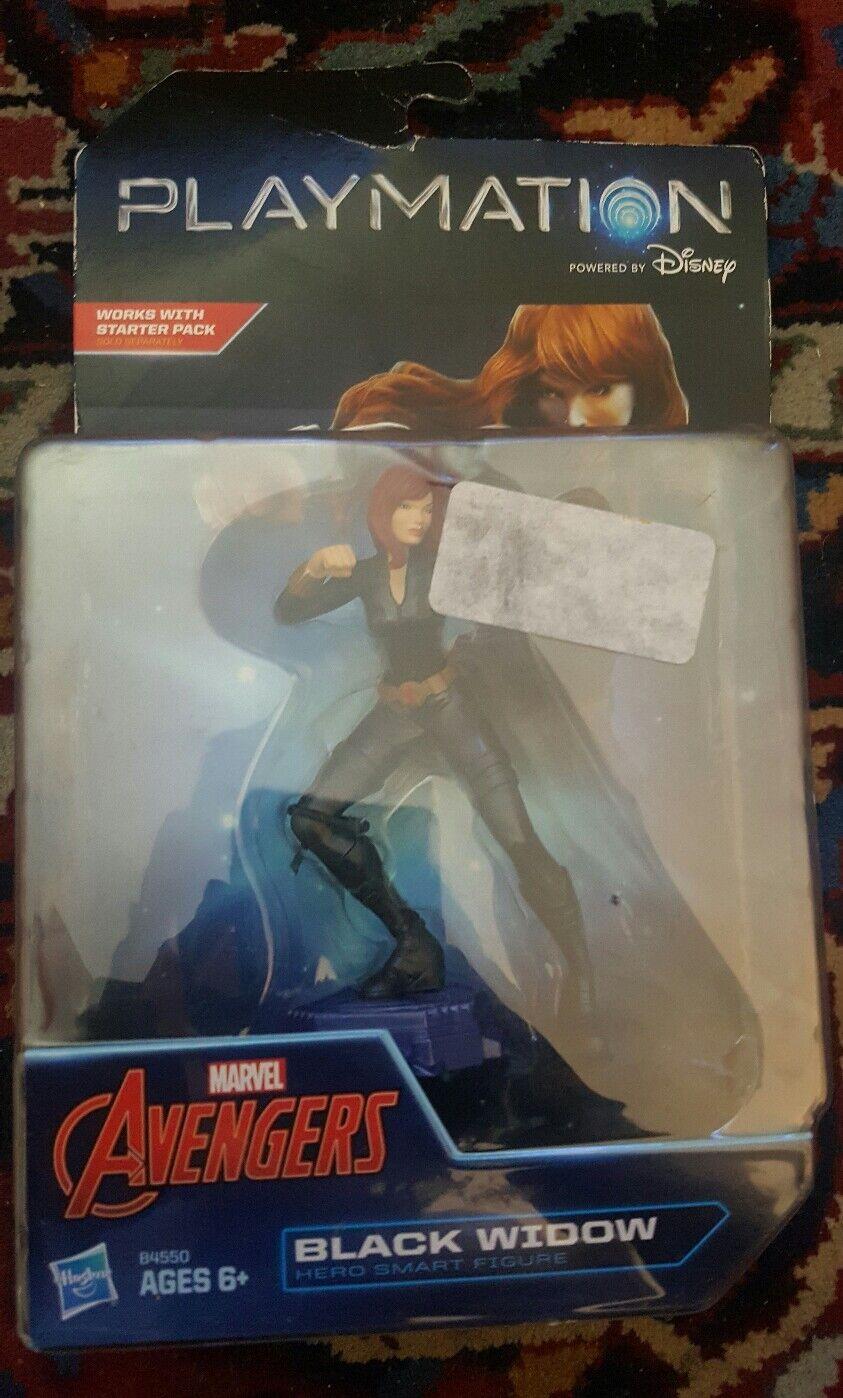 Nuevo en paquete playmation Marvel Vengadores viuda Negra Figura de Smart Hero