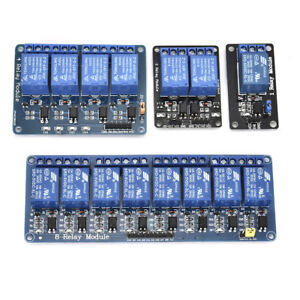 For-Arduino-PiC-ARM-AVR-1-2-4-8-Channel-Relay-Board-Optocoupler-Module-LED-5V