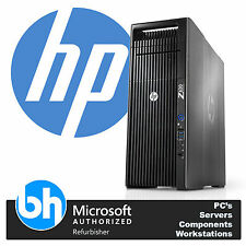 HP Z620 Xeon 2x E5-2650 Octa Core 2.00GHz 32GB RAM 120GB SSD Win 7 Workstation
