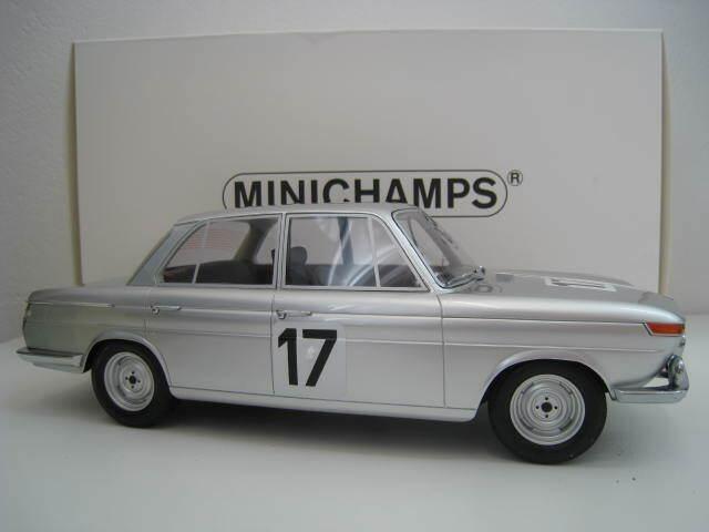 ventas en linea BMW 2000 TI  4 Ickx   Hahnemann Hahnemann Hahnemann 24 h Spa 1966 Minichamps 1 18 originales caja nuevas  Venta en línea precio bajo descuento