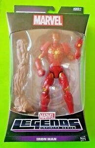 "Marvel Legends Infinite Series 6"" Iron Man Action Figure (BAF Groot)- NEW/SEALED"