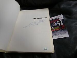 Champions-Book-Autographed-by-Johnny-Unitas-JSA-Certified