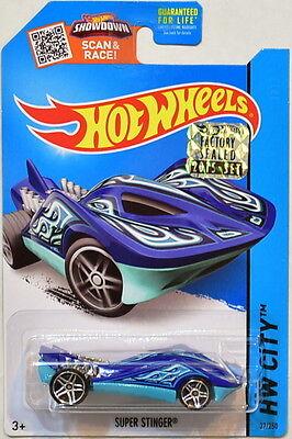 Modellbau DemüTigen Hot Wheels 2015 Hw Stadt Super Stinger Blau Werkseitig Versiegelt Auto- & Verkehrsmodelle