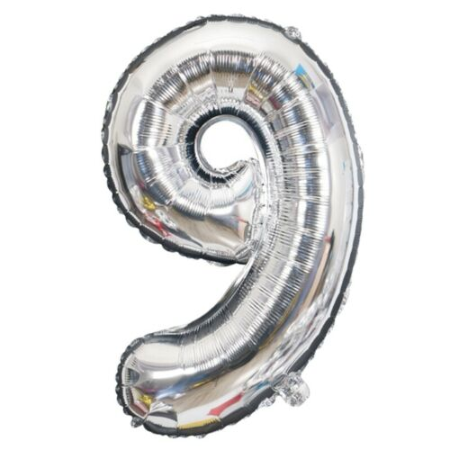 2 Colors Helium Number Foil Balloons Wedding For Kids Birthday Party Decor cby