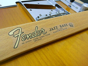 Replacement-decal-for-1962-1965-Fender-JazzBass-Decal-Vintage-Logo