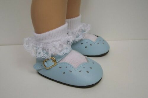 Debs BLUE Scallop Doll Shoes For Chatty Cathy LT Light