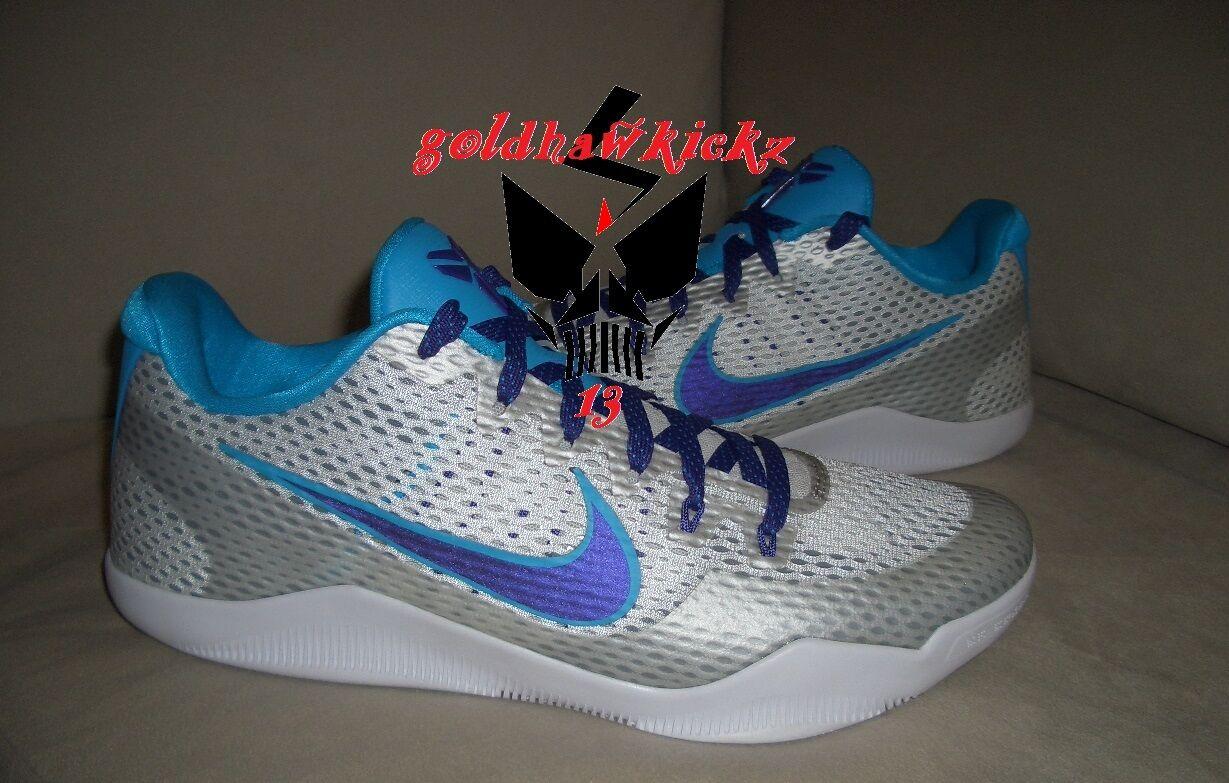 Nike Kobe XI 11 draft day charlotte Hornets 836183-154 mamba purple bluee lagoon