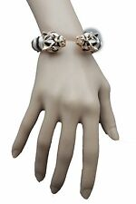 Hot Women Cuff Bangle Bracelet Gold Metal Tiger Leopard Panther Fashion Jewelry
