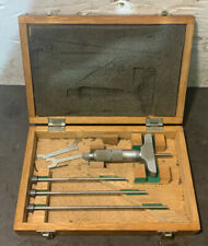 Mitutoyo Depth Gage 0 4 001 Inspection Micrometer Machinist Lathe Used