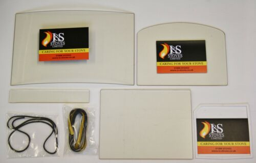 Burley Stove Replacement Glass and FREE Seal Various Models