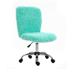 Cute Fuzzy Kids Desk Chairs Small Home Office Task Chair For Teens Girls