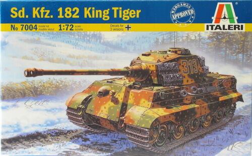 King Tiger Kit 1:72 Italeri IT7004 Modellbau