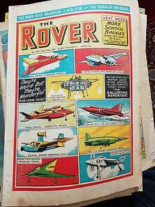 The Rover comic No. 1567 July 9th 1955