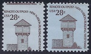 """1604 - 28c Misperf Error / EFO """"Remote Outpost"""" Mint NH"""