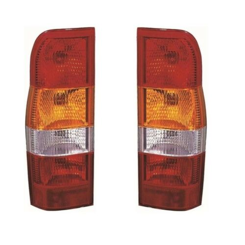 For Ford Transit Mk6 Van 2000-2006 Rear Lights Lamps Amber Inds Pair OS NS
