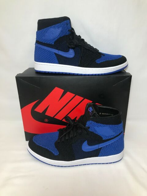 reputable site c12a5 ac0cf Nike Air Jordan 1 Retro High  Flyknit Royal  Men s SZ 11.5 ...
