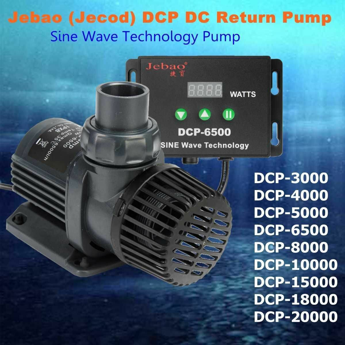 DCP Series 350020k Maring Flow Rate DC Sine Wave Return Submersible Water Pump