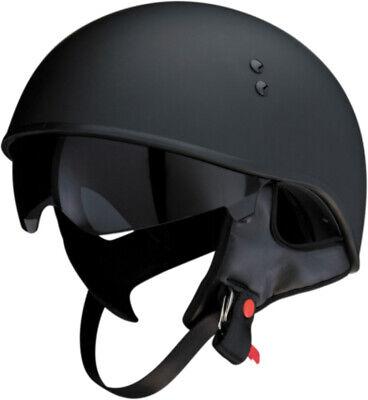 Z1R Vagrant 3//4 Half Helmet Solid Motorcycle Street Bike DOT Mens Womens Harley