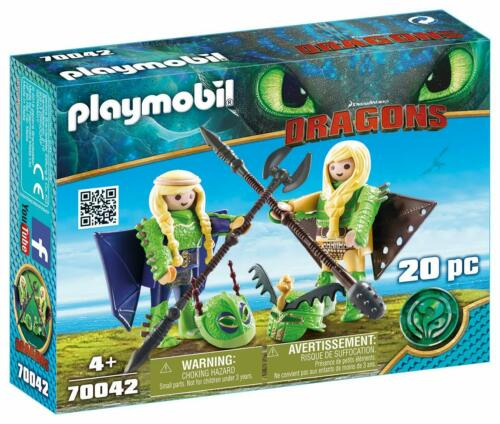 Playmobil 70042 Dragons Ruffnut and Tuffnut
