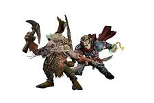 GNOME ROGUE & KOBOLD MINER WORLD OF WARCRAFT WOW ACTION FIGUR SERIE 8