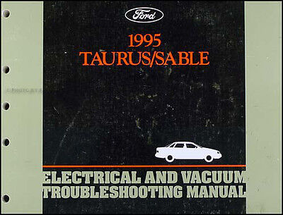 95 grand marquis wiring diagram 1995 ford taurus mercury sable electrical troubleshooting manual  1995 ford taurus mercury sable