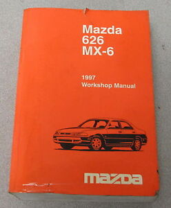 image is loading 1997-mazda-626-mx-6-service-workshop-manual-