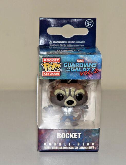Rocket Raccoon Pocket Pop! Keychain Guardians of the Galaxy Vol.2 Funko - NEW