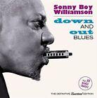Down and out Blues 14 Bonus Tracks Sonny Boy Williamson Audio CD