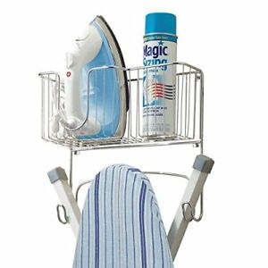mDesign-Wall-Mounted-Ironing-Board-Holder-Steel-Ironing-Board-Rack-for-Easy-Or