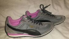 Women's PUMA Casual Cool Retro Sneakers Speeder Model Size 8.5 345640 30 Gray