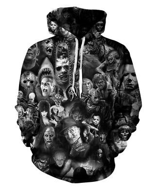 Women//Men Skull Skeleton Funny Goblin 3D Print Casual Hoodie Sweatshirt Pullover