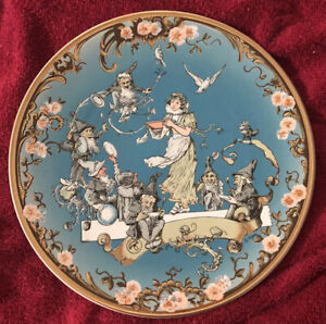 Papageno-Snow-White-Plate-Limited-Edition-Villeroy-Boch-Mettlach-Collectors