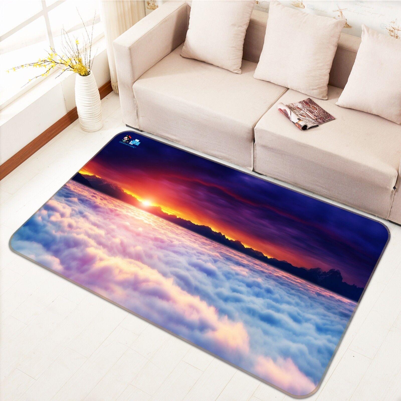 3D fotografia Cloud 5 tappetino antiscivolo tappeto camera Tappetino Qualità Elegante foto Tappeto UK