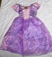 Girls Size 5-6 Rapunzel From Tangled Costume Dress Disney Store