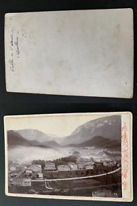 France-vallee-de-l-039-Aude-Quillan-Vintage-print-carte-cabinet-Photomeca