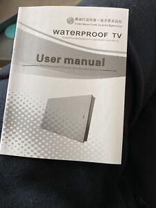 22inch HD Waterproof TV - New boxed