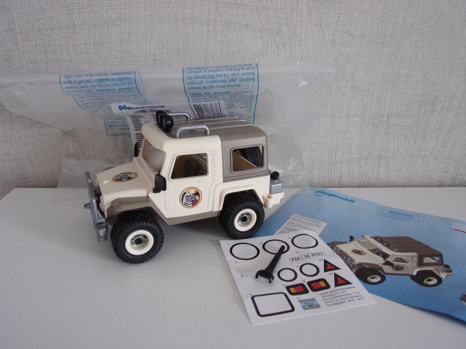 Playmobil Additions & Accessories - 6581 safari-geländewagen - NEW