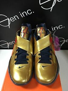size 40 c4b30 82f5f Image is loading Authentic-Nike-KD-4-IV-Gold-Medal-New-