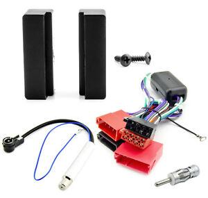 Radioblende-DIN-Blende-Aktiv-System-Adapter-ISO-Set-AUDI-A3-8L-TT-8N-Autoradio