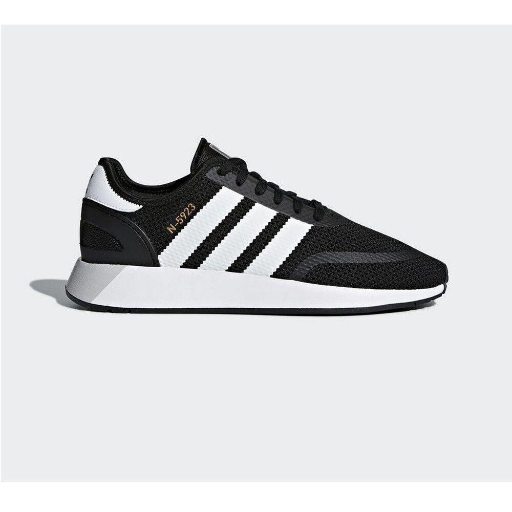 Sneakers CQ2337 Zapatilla Adidas N-5923 Negro Blanco Blanco Blanco Gris Hombre 9791c0