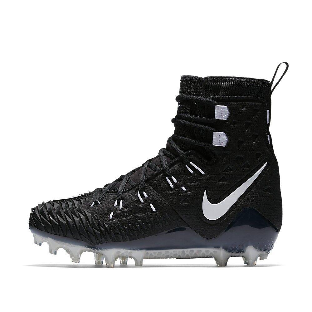 Nike vigore savage elite td football scarpette blk bianco 857063 011 molteplici dimensioni bianco nero