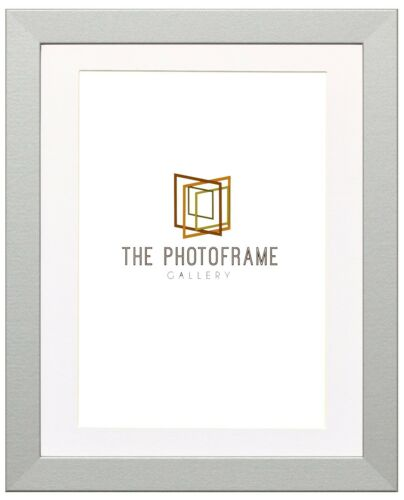 Silver Picture Frames With Mount Photo Frames Wood Effect Picture Frame Various