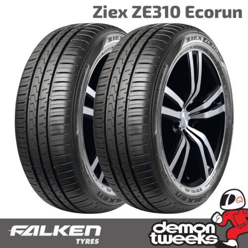 XL Falken Ziex ZE310 Ecorun Performance Tyres 2 x 205//45//17 88W 2054517