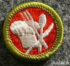 Boy Scouts of America BSA  Cooking Merit Badge Type H