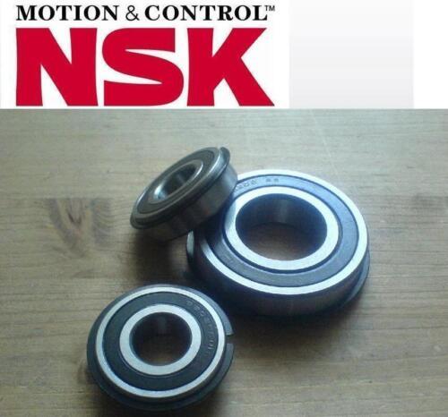 1 NSK Premium Rillenkugellager Kugellager 6005 DDU.NR Nut+Ring  25x47x12 mm