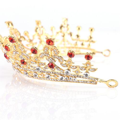 Bridal Crystal Tiara Crowns Princess Queen Pageant Prom Tiara Headband MW