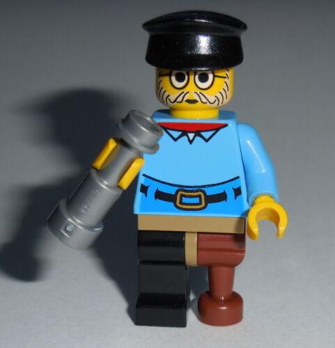 Frank-N-Minifigure New Lego Sea Captain AS SHOWN Genuine Lego Parts D