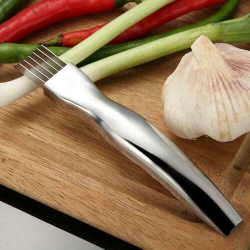 Zwiebelmesser Allesschneider Käse Chili Edelstahl Küchenmesser Kräuter