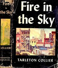 RARE 1941 1ST EDITION DUST JACKET FIRE IN THE SKY TARLETON COLLIER GEORGIA
